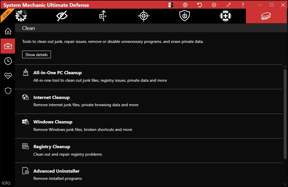 System Mechanic Ultimate Defence 20.3.2.97 Activation Key