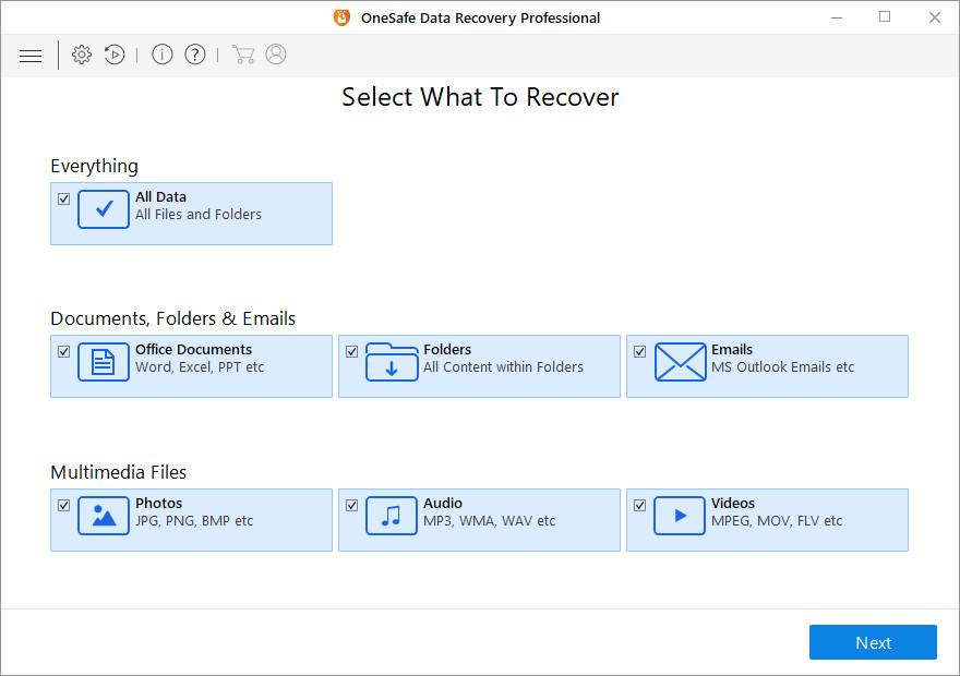 OneSafe Data Recovery Professional Keygen