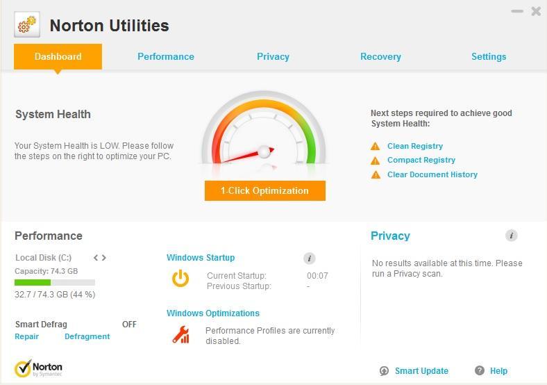 Symantec Norton Utilities 17.0.5.701 + Crack [Latest] Free