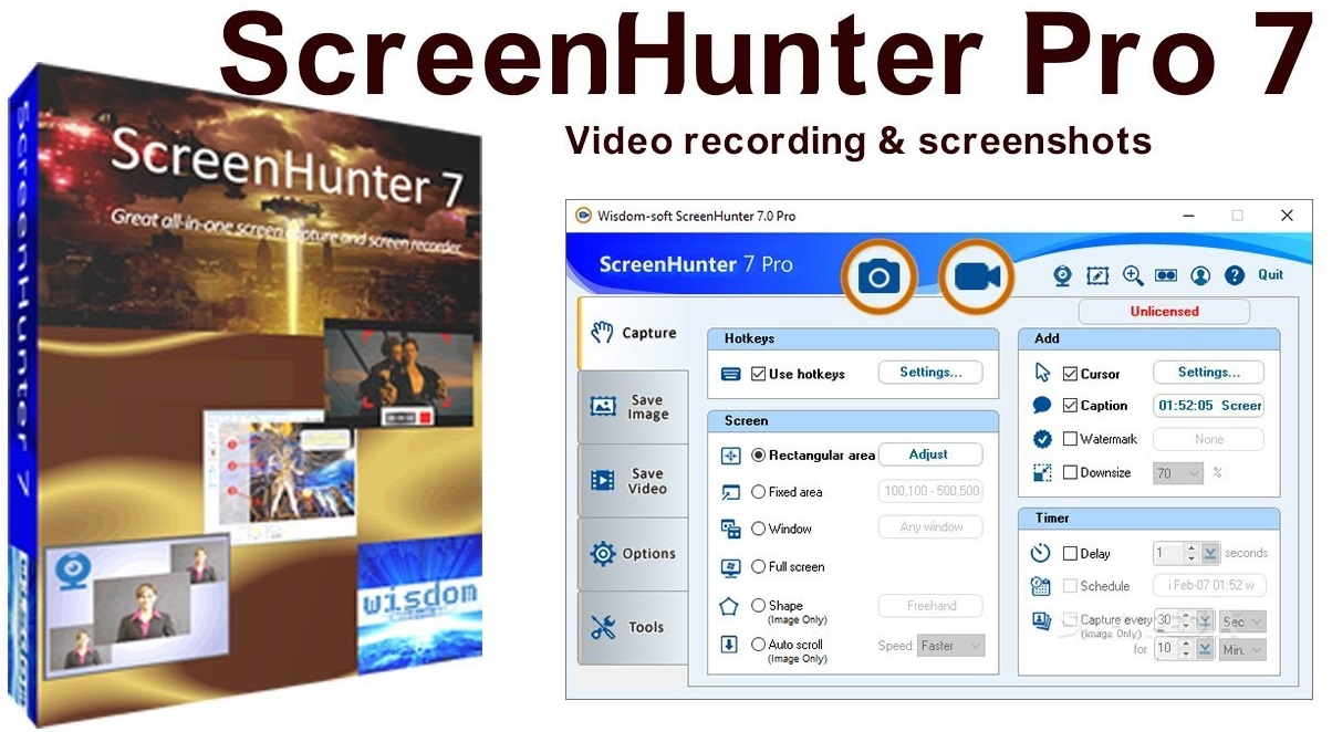 ScreenHunter Pro Crack + License Key [Latest]