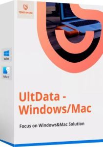 Tenorshare UltData Windows 9.4.1.6  Crack + License Key Free [Latest 2021]