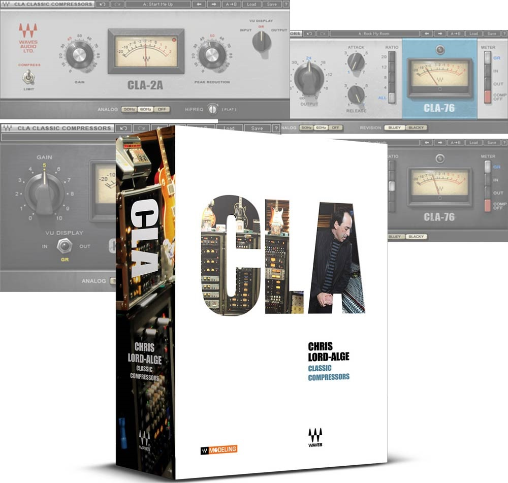 CLA-76 Compressor v1.7 Crack Mac & Windows + VST Plugin